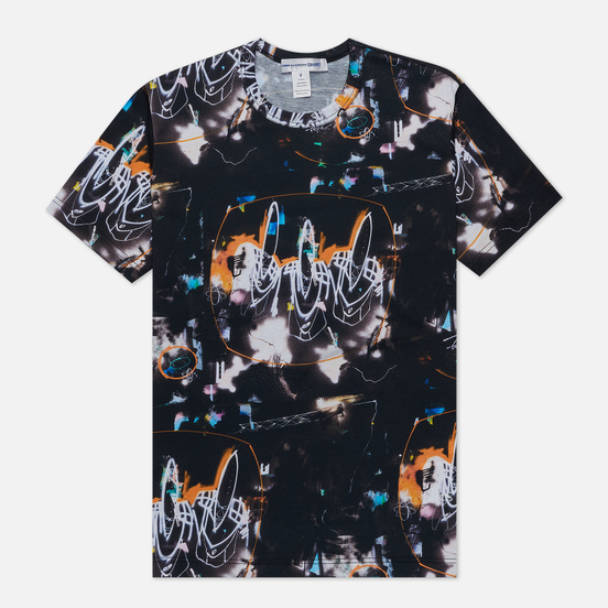 Мужская футболка Comme des Garcons SHIRT x Futura Print A Black