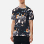 Мужская футболка Comme des Garcons SHIRT x Futura Print A Black фото - 2