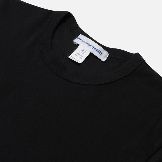 Мужской лонгслив Comme des Garcons SHIRT Logo Print Back Black