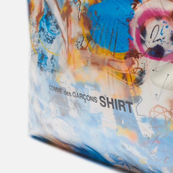 Сумка Comme des Garcons SHIRT x Futura Graffiti Printed 29L Blue