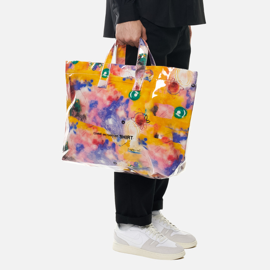 Сумка Comme des Garcons SHIRT x Futura Graffiti Printed 29L Yellow