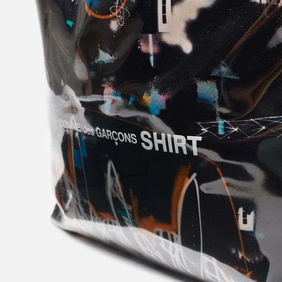 Сумка Comme des Garcons SHIRT x Futura Graffiti Printed 12L Black