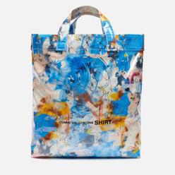Сумка Comme des Garcons SHIRT x Futura Graffiti Printed 12L Blue