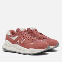 Женские кроссовки New Balance 57/40 Higher Learning Washed Henna/Oyster Pink