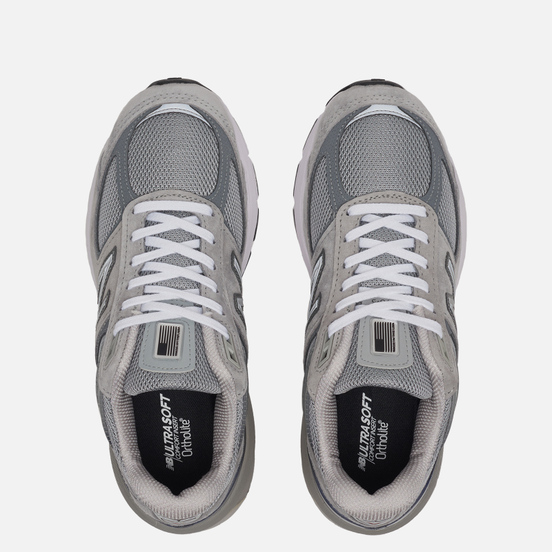 Женские кроссовки New Balance 990v5 Grey/White