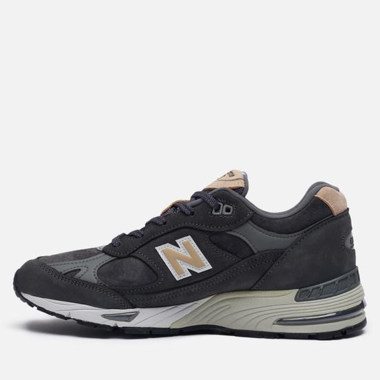 Женские кроссовки New Balance 991 Dark Grey/Sand