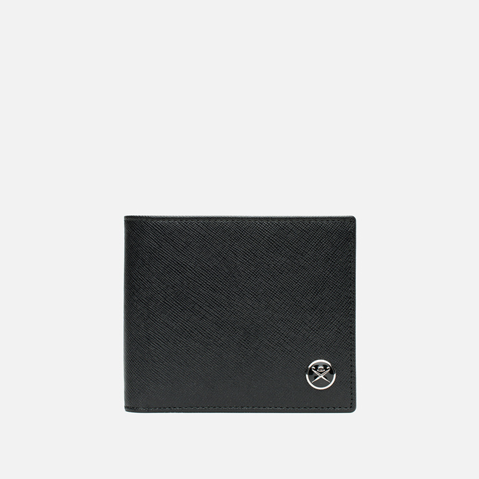 Кошелек Hackett Saffiano Bill Black