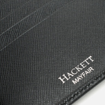 Кошелек Hackett Saffiano Bill Black фото- 4