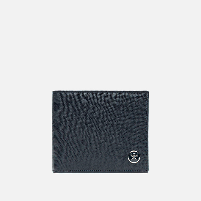 Hackett Saffiano Bill Wallet Navy