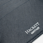 Hackett Saffiano Bill Wallet Navy photo- 4