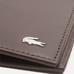 Кошелек Lacoste Large Billford Dark Brown фото- 3
