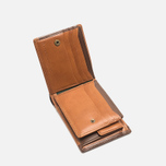 Master-Piece Flat Leather Wallet Camel photo- 1