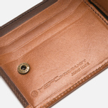 Master-Piece Flat Leather Wallet Camel photo- 4