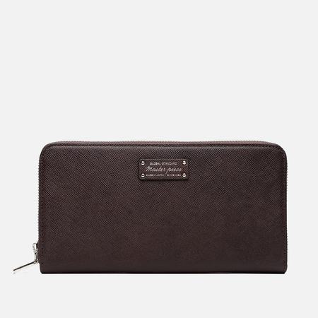 Master-Piece Noble Zip Wallet Choko