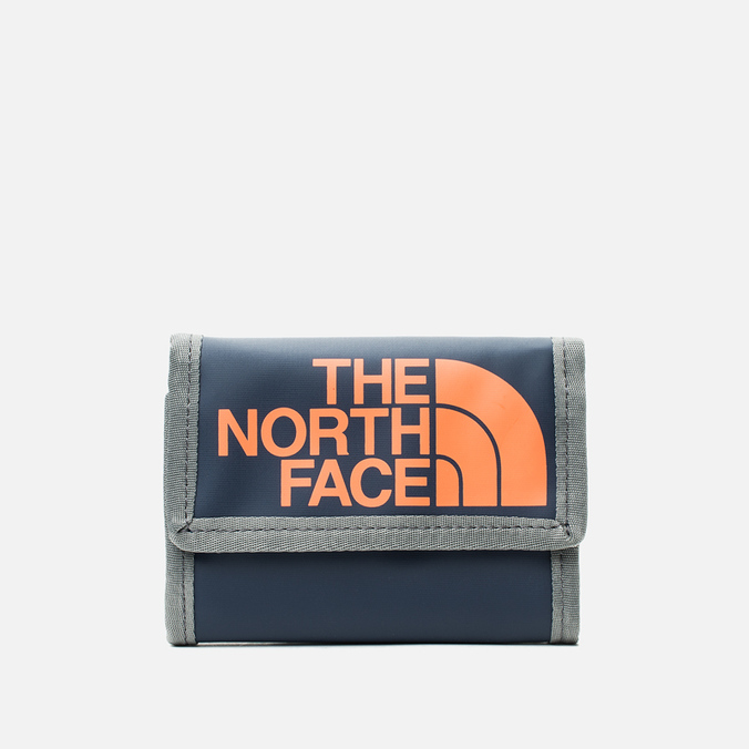 The North Face Base Camp Wallet Cosmic Blue/Power Orange