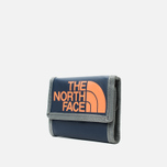 The North Face Base Camp Wallet Cosmic Blue/Power Orange photo- 1