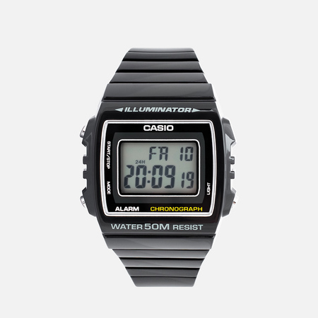 CASIO Наручные часы Collection W-215H-1AVEF Black