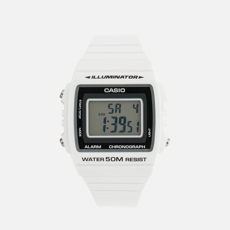 Наручные часы Casio Collection W-215H-7AVEF White/Black