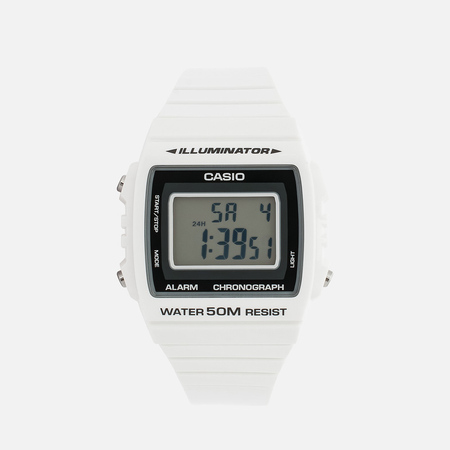 CASIO Collection W-215H-7AVEF Watch White/Black