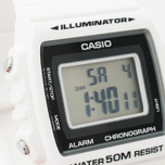 Наручные часы CASIO Collection W-215H-7A White/Black фото- 2