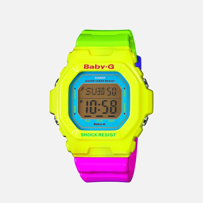 Женские наручные часы CASIO Baby-G BG-5607-9E Multicolor