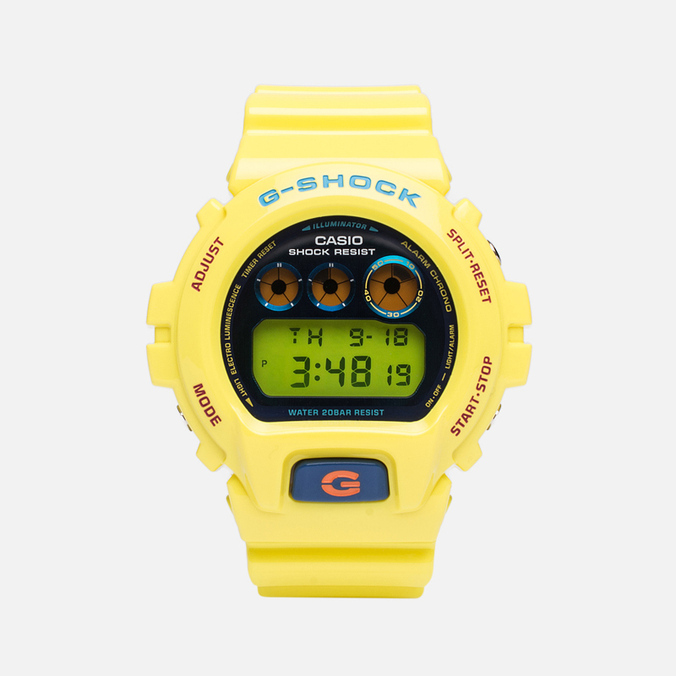Часы CASIO G-SHOCK DW-6900PL-9ER Yellow