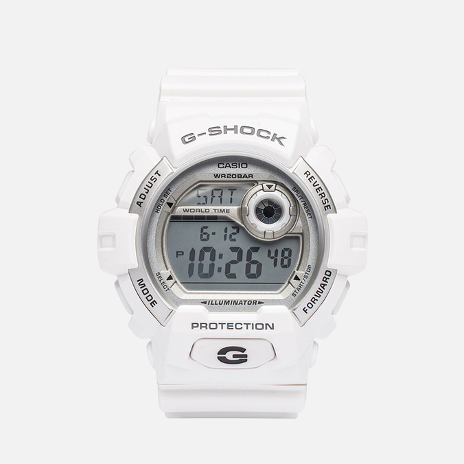 Часы CASIO G-SHOCK G-8900A-7ER White