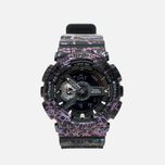 Наручные часы CASIO G-SHOCK GA-110PM-1AER Polarized Marble Pack Black фото- 0