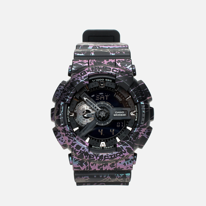 Наручные часы CASIO G-SHOCK GA-110PM-1AER Polarized Marble Pack Black