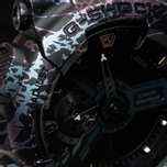 Наручные часы CASIO G-SHOCK GA-110PM-1AER Polarized Marble Pack Black фото- 2