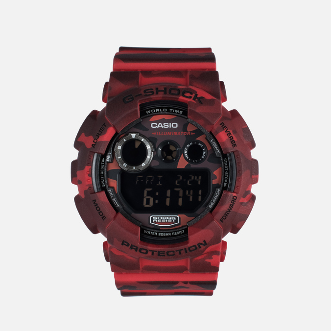 Наручные часы CASIO G-SHOCK GD-120CM-4ER Camo Pack Red
