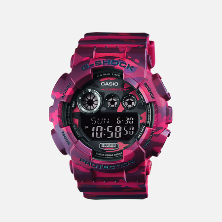CASIO G-SHOCK GD-120CM-4ER Watch Camo Pack Red