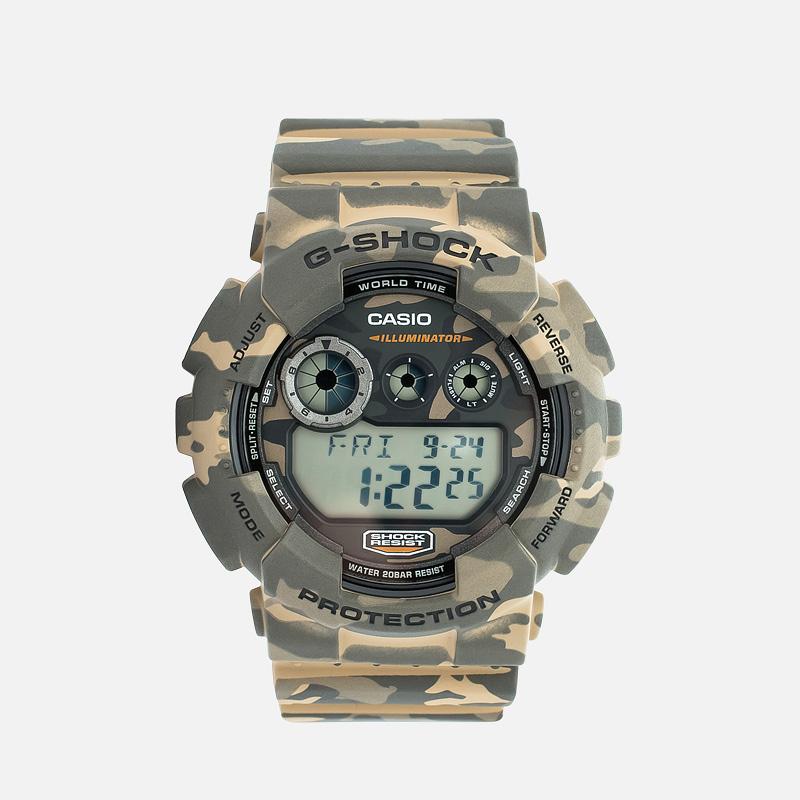 Наручные часы CASIO G-SHOCK GD-120CM-5ER Camo Pack Woodland