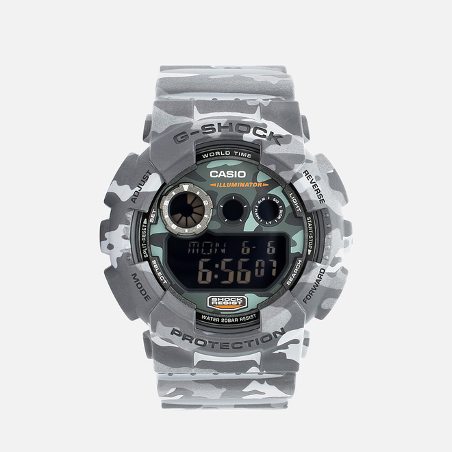 Наручные часы CASIO G-SHOCK GD-120CM-8ER Camo Pack Grey