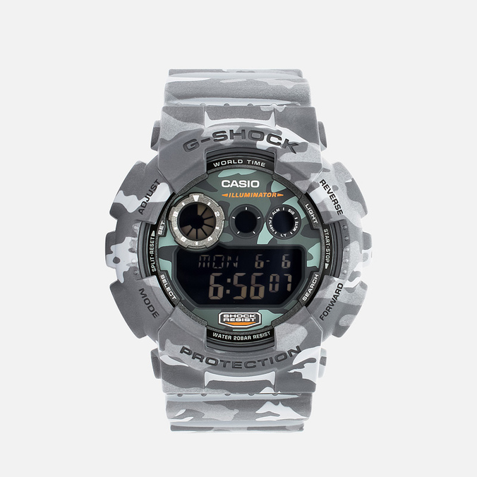 Часы CASIO G-SHOCK GD-120CM-8ER Camo Pack Grey