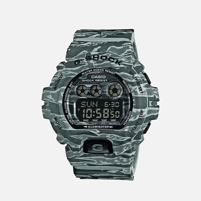 CASIO G-SHOCK GD-X6900CM-8ER Watch Tiger Camo Stone