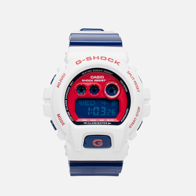 Часы CASIO G-SHOCK GD-X6900CS-7DR White/Blue/Red