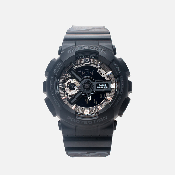 Часы CASIO G-SHOCK GMA-S110F-1AER Black