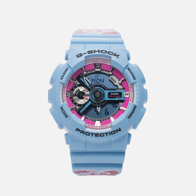CASIO G-SHOCK GMA-S110F-2AER Watch Light Blue
