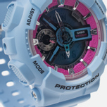 Наручные часы CASIO G-SHOCK GMA-S110F-2AER Light Blue фото- 3