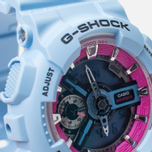 CASIO G-SHOCK GMA-S110F-2AER Watch Light Blue photo- 2