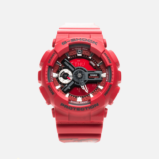 Наручные часы CASIO G-SHOCK GMA-S110F-4AER Red