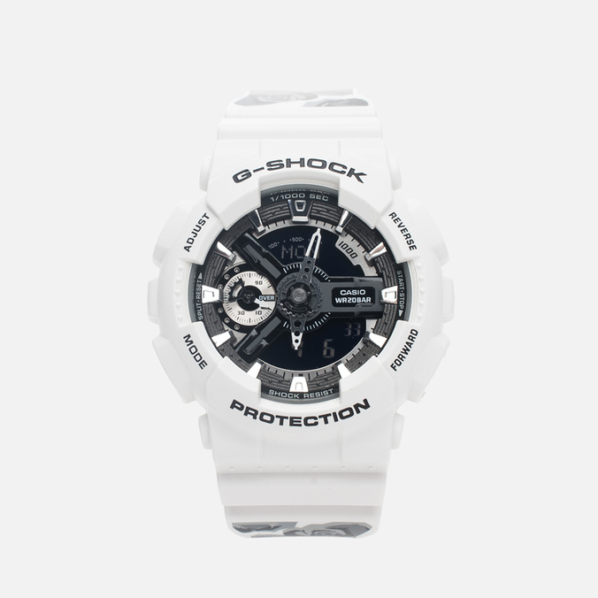 Часы CASIO G-SHOCK GMA-S110F-7AER White