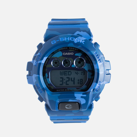 Наручные часы Casio G-SHOCK GMD-S6900CF-2E Camo Deep Blue