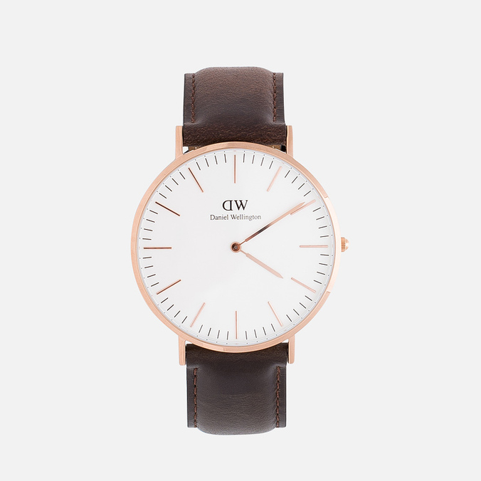 Daniel Wellington Classic Bristol Men's Watch Rose Gold