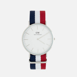 Наручные часы Daniel Wellington Classic Cambridge Silver фото- 0