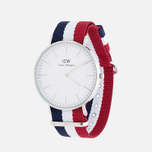 Наручные часы Daniel Wellington Classic Cambridge Silver фото- 1