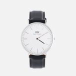 Мужские наручные часы Daniel Wellington Classic Sheffield Silver фото- 0