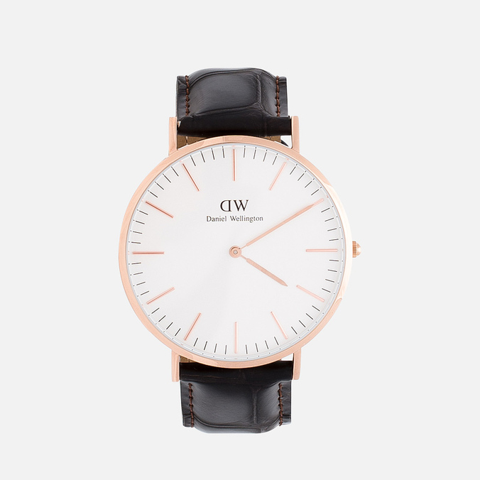 Daniel Wellington Classic York Watch Rose Gold