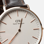 Daniel Wellington Classic York Watch Rose Gold photo- 2